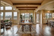 Mediterranean Style House Plan - 4 Beds 4 Baths 3069 Sq/Ft Plan #80-141 Interior - Dining Room