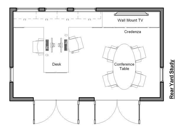 Cottage Floor Plan - Main Floor Plan #499-1