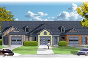 Traditional Exterior - Front Elevation Plan #26-139