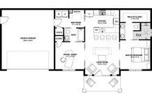 Farmhouse Floor Plan - Main Floor Plan Plan #126-175
