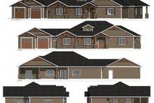 House Plan Design - Craftsman Exterior - Other Elevation Plan #1077-2