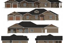 Dream House Plan - Craftsman Exterior - Other Elevation Plan #1077-2