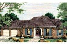 Dream House Plan - European Exterior - Front Elevation Plan #406-135