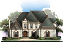 Traditional Exterior - Front Elevation Plan #119-352