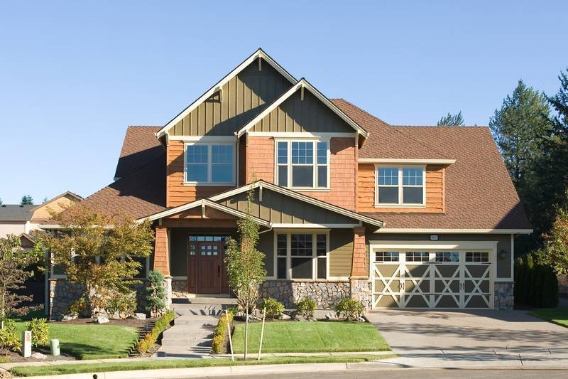 Craftsman Exterior - Front Elevation Plan #48-611