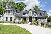 Tudor Exterior - Front Elevation Plan #901-119