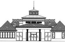 Architectural House Design - European Exterior - Rear Elevation Plan #119-145