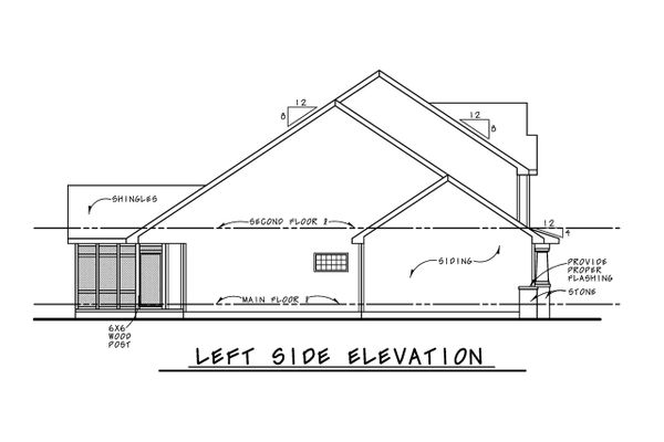 Architectural House Design - Craftsman Floor Plan - Other Floor Plan #20-2420