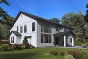 Craftsman Style House Plan - 4 Beds 5 Baths 4941 Sq/Ft Plan #1066-48 Exterior - Rear Elevation