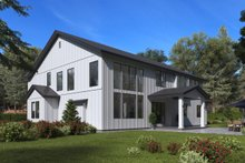 Architectural House Design - Craftsman Exterior - Rear Elevation Plan #1066-48