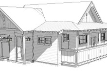 Home Plan - Ranch Exterior - Front Elevation Plan #895-128