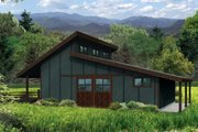 Country Style House Plan - 0 Beds 0 Baths 864 Sq/Ft Plan #124-985 Exterior - Front Elevation
