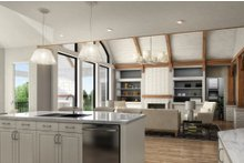 Craftsman Interior - Kitchen Plan #54-381