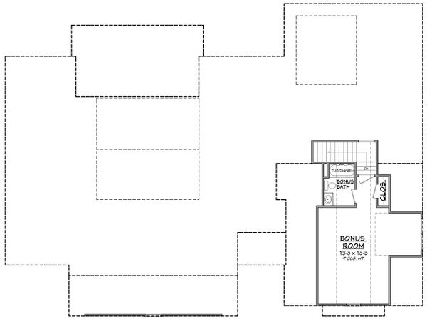 Craftsman Floor Plan - Other Floor Plan Plan #430-201