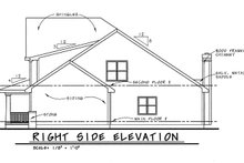 Home Plan - Country Exterior - Front Elevation Plan #20-1227