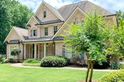 Traditional Style House Plan - 4 Beds 3.5 Baths 2943 Sq/Ft Plan #437-118 Exterior - Front Elevation