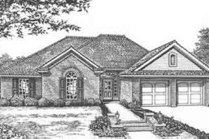 Traditional Exterior - Front Elevation Plan #310-409