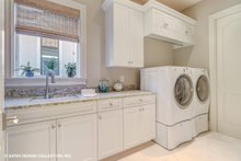 Mediterranean Interior - Laundry Plan #930-511
