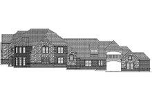 Dream House Plan - European Exterior - Rear Elevation Plan #84-293