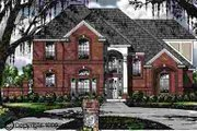 Traditional Style House Plan - 4 Beds 2.5 Baths 2556 Sq/Ft Plan #40-106 Exterior - Front Elevation