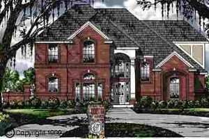 Traditional Exterior - Front Elevation Plan #40-106