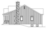 Cottage Style House Plan - 2 Beds 2 Baths 1191 Sq/Ft Plan #22-571 Exterior - Other Elevation