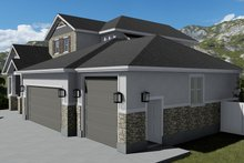 House Plan Design - Traditional Exterior - Other Elevation Plan #1060-69