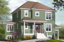 Country Exterior - Front Elevation Plan #23-2192
