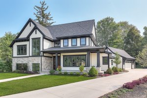 Craftsman Exterior - Front Elevation Plan #928-312