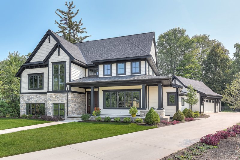 Home Plan - Craftsman Exterior - Front Elevation Plan #928-312