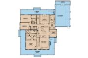 Farmhouse Style House Plan - 4 Beds 4 Baths 3474 Sq/Ft Plan #923-108 Floor Plan - Main Floor Plan