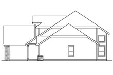 Dream House Plan - Traditional Exterior - Other Elevation Plan #124-384