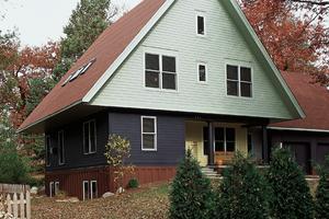 Modern Exterior - Front Elevation Plan #573-1