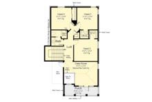 Traditional Floor Plan - Upper Floor Plan Plan #930-498