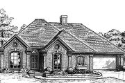 Traditional Style House Plan - 3 Beds 2.5 Baths 2011 Sq/Ft Plan #310-793 Exterior - Front Elevation