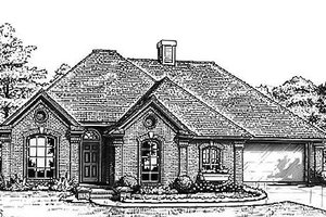 Traditional Exterior - Front Elevation Plan #310-793