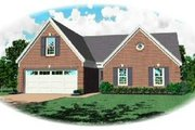 Traditional Style House Plan - 3 Beds 2 Baths 1333 Sq/Ft Plan #81-193