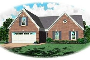 Traditional Exterior - Front Elevation Plan #81-193