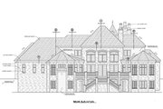 European Style House Plan - 4 Beds 4.5 Baths 4593 Sq/Ft Plan #20-2318