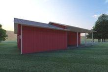 Architectural House Design - Ranch Exterior - Rear Elevation Plan #126-205