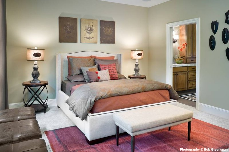 Craftsman Interior - Master Bedroom Plan #48-615 - Houseplans.com