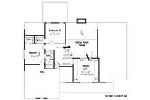 Craftsman Floor Plan - Upper Floor Plan Plan #927-25