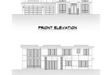 Architectural House Design - Contemporary Exterior - Other Elevation Plan #1066-104