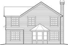 Traditional Exterior - Rear Elevation Plan #48-199