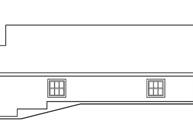 Traditional Exterior - Other Elevation Plan #124-794 - Houseplans.com