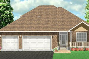 Traditional Exterior - Front Elevation Plan #414-121