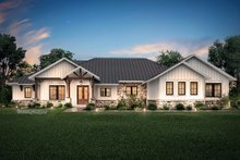 Dream House Plan - Ranch Exterior - Front Elevation Plan #430-190