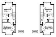 Craftsman Style House Plan - 4 Beds 3 Baths 1770 Sq/Ft Plan #124-812 Floor Plan - Upper Floor Plan