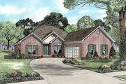 Traditional Style House Plan - 3 Beds 2.5 Baths 2413 Sq/Ft Plan #17-2211 Exterior - Front Elevation