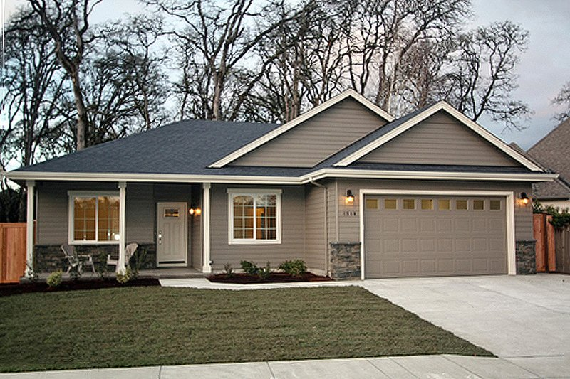 Home Plan - Ranch Exterior - Front Elevation Plan #124-939